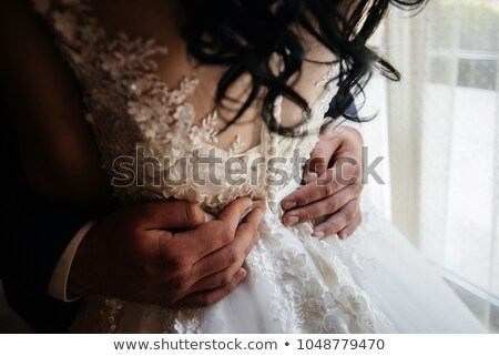 Female Holding Male Around Waist stock photo © iofoto