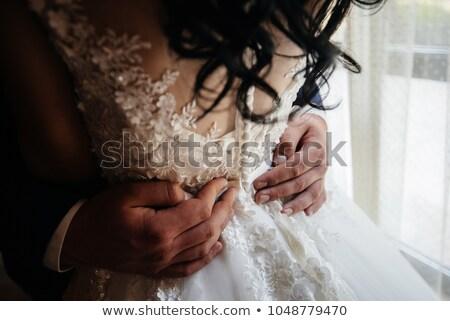 женщины · мужчины · вокруг · талия · вид · сзади - Сток-фото © iofoto