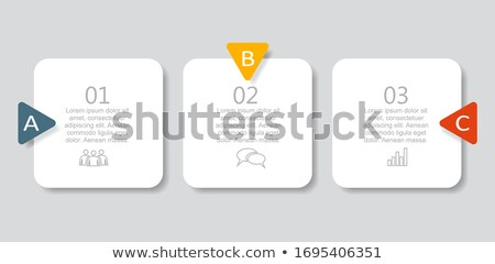 コレクション · ピース · オフィス · 紙 · カレンダー · 緑 - ストックフォト © davidarts