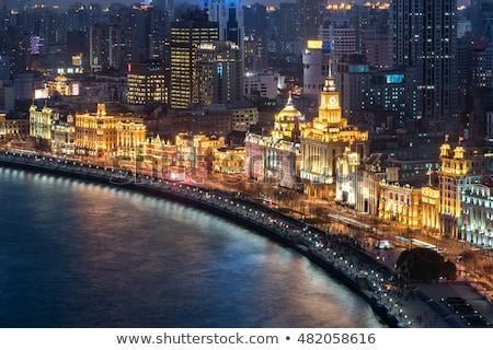 старые европейский наследие здании Шанхай Китай Сток-фото © travelphotography