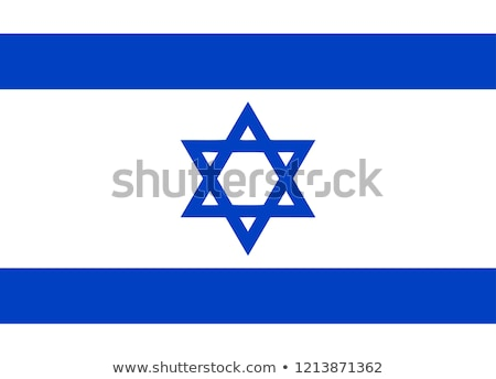 national colours of Israel Stock photo © perysty