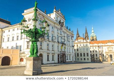 Praga arquitetura histórica edifício arquitetura windows Foto stock © Sarkao