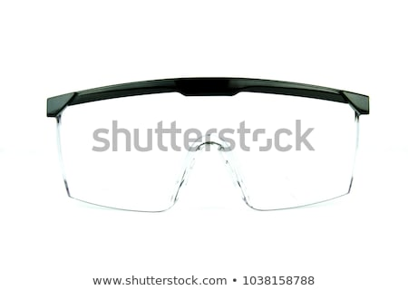 Stock photo: safety glasses isolated