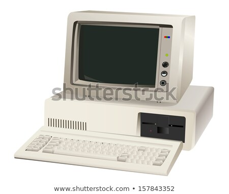 old computer unit Stock photo © mayboro