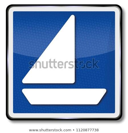 ship sign navigation license for sailing vessels stock photo © ustofre9