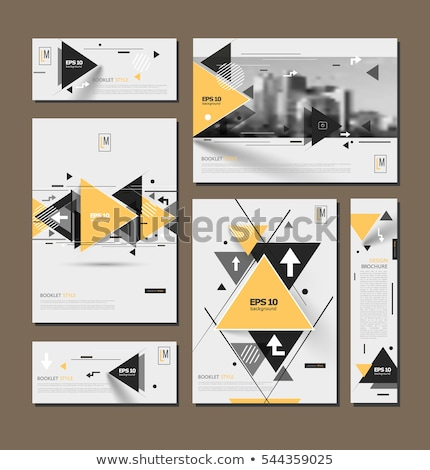 Shopping Concept on Triangle Background. Stock photo © tashatuvango