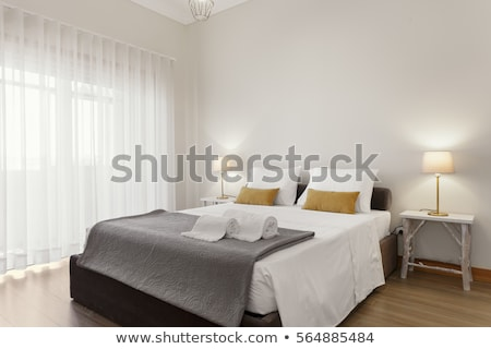 Double room in hotel Stock photo © Nejron