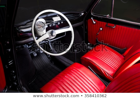 vintage car interior stock photo © nejron