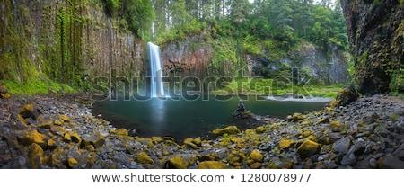Stock photo: creek and rocks