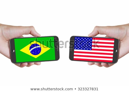 smartphone flag of american state of washington    Stock photo © vepar5