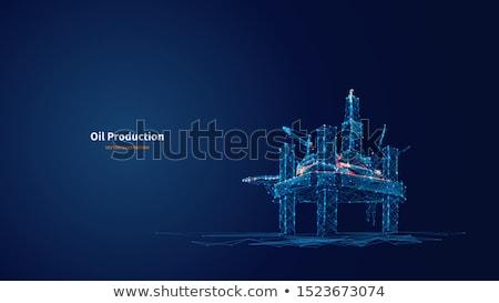 Gasolina vetor ilustrações carro assinar indústria Foto stock © Slobelix