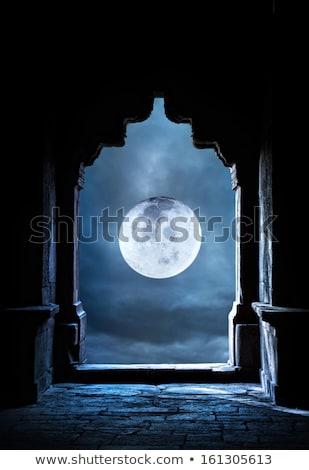 augusztus · illusztráció · naptár · oktatás · fekete · terv - stock fotó © pixachi