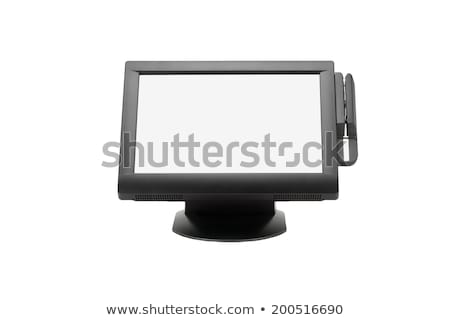 Wide Screen Point of Sale System stock photo © dezign56