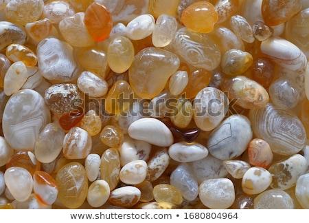 Foto stock: ágata · coleção · mineral · bom · naturalismo · natureza