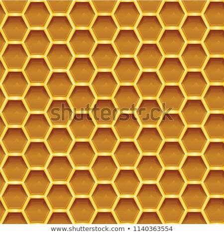 Készít narancs szín méhsejt textúra stock Stock fotó © nalinratphi