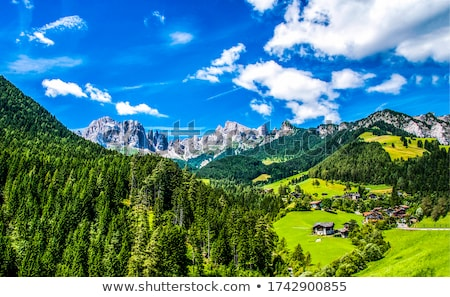 beautiful valley Stock photo © Antonio-S