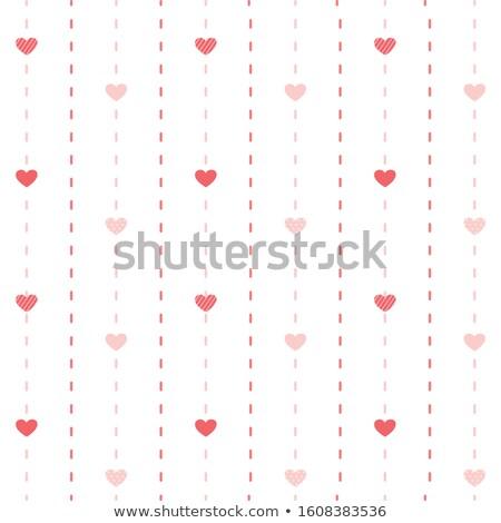 赤 心 シームレス パターン 結婚式 幸せ ストックフォト © aliaksandra