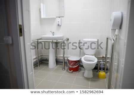 Stock photo: Sign wheelchair-accessible home for wheelchairs