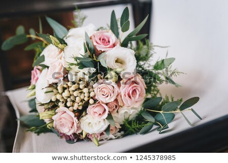 bruidegom · orchidee · knoopsgat · bruiloft · groene · bloem - stockfoto © sfinks