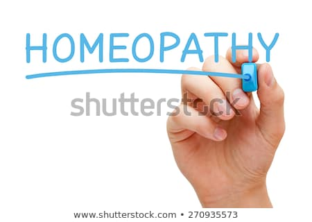 Homeopathy Blue Marker Stock photo © ivelin