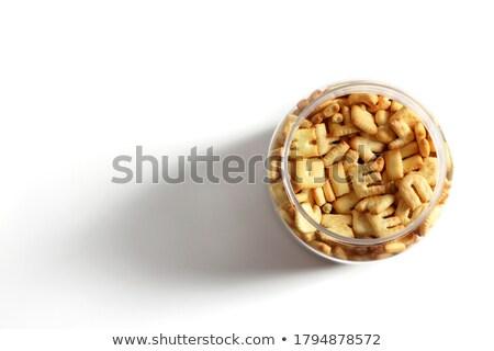 brief · woord · bonus · alfabet · cookie · collage - stockfoto © vinnstock