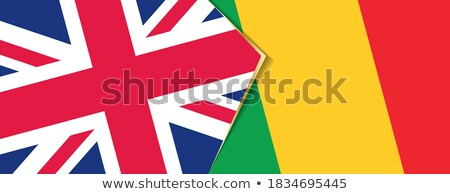 United Kingdom and Mali Flags Stock photo © Istanbul2009