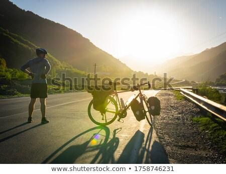 hombre · bicicleta · salud · club · velocidad · ver - foto stock © Paha_L