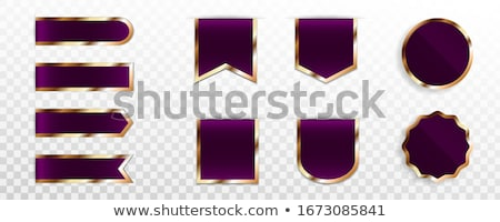 Exclusive Offer Violet Vector Icon Design Stock photo © rizwanali3d