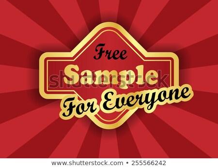 gratis · bon · gouden · vector · icon · ontwerp - stockfoto © liliwhite