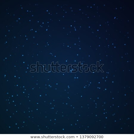 Night sky studded with sparkling stars Stock photo © Winner