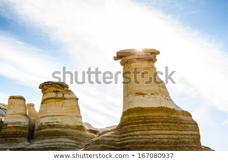 Badlands Alberta  hoo doo Stock photo © pictureguy