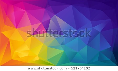 mosaic colored abstract background consisting of triangles stock photo © marysan