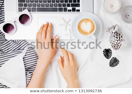 Young Woman With Starfish Stock photo © MilanMarkovic78