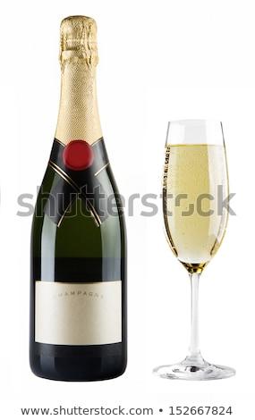 vetor · conjunto · dois · vinho · garrafas · vintage - foto stock © bluering