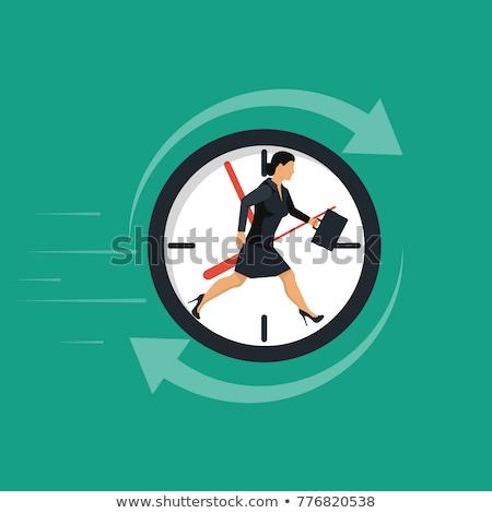 時間 · 高速 · 画像 · いい · クロック · ビジネス - ストックフォト © alphaspirit