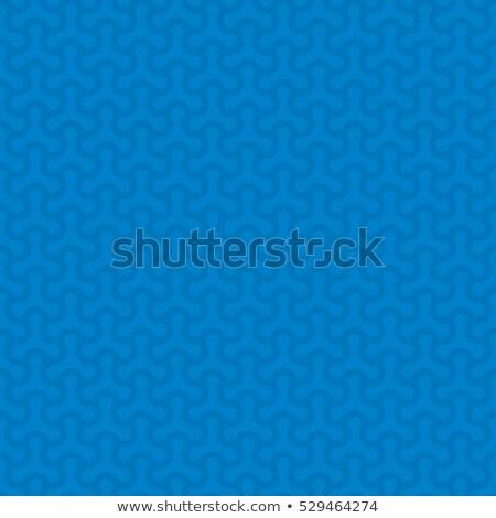 Kék semleges végtelen minta modern terv stílus Stock fotó © almagami