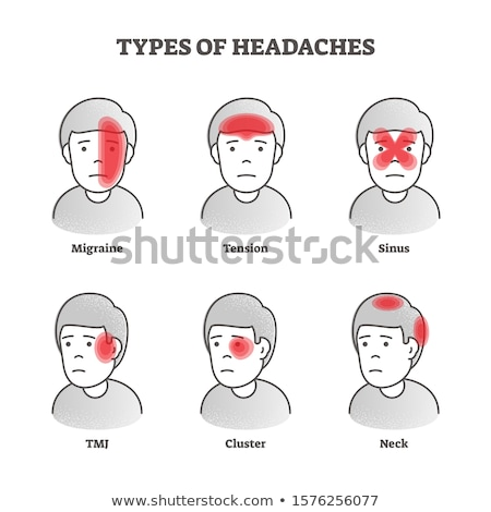 various types of headaches Stock photo © adrenalina