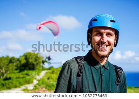競争力のある · アドベンチャースポーツ · 飛行 · 軽量 - ストックフォト © smuki