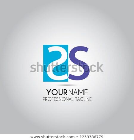 Creativa carta icono resumen diseño de logotipo vector Foto stock © chatchai5172