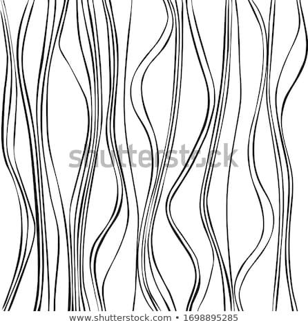elegáns · névjegy · hullámos · vonalak · üzlet · nyomtatott - stock fotó © SArts
