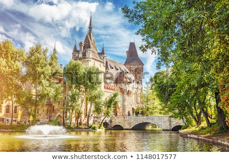 bewijzen · kasteel · gothic · stijl · reizen · Europa - stockfoto © m_pavlov