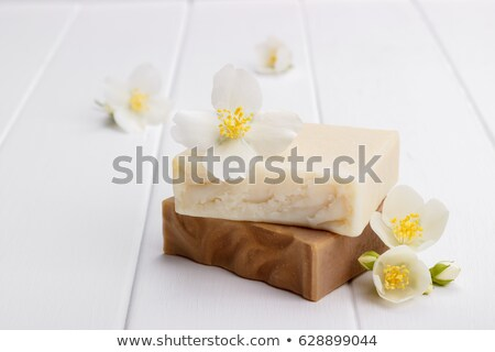 hand made jasmine soap stock photo © lana_m
