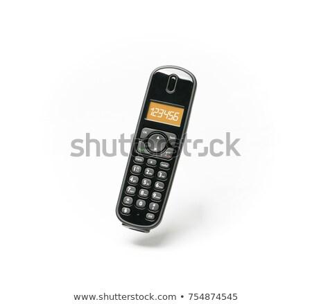 Modern cordless phone Stock photo © digitalr