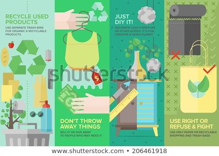 Effectief marketing tools icon ontwerp business Stockfoto © WaD