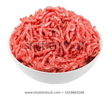 Stock fotó: Mincemeat Minced Or Ground Meat