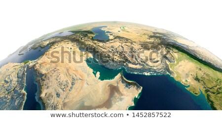 Omã 3D globo mapa bandeira ilustração 3d Foto stock © Harlekino