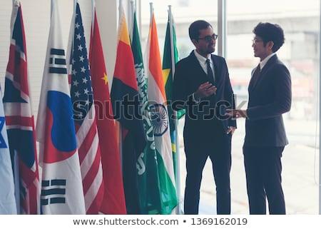 Diplomat. Stock photo © Fisher