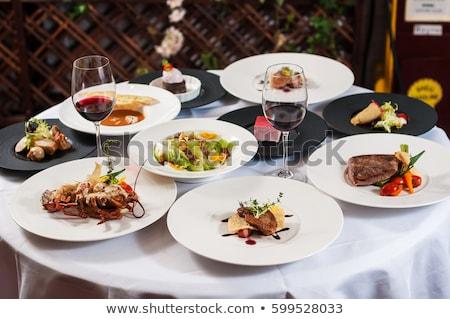 chef · cozinha · francesa · comida · restaurante · menu · projeto - foto stock © fisher