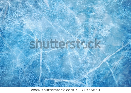 Gelo textura lago sibéria abstrato fundo Foto stock © zastavkin