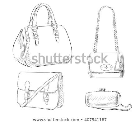 Leather Purse vector illustration clip-art image Stock photo © vectorworks51